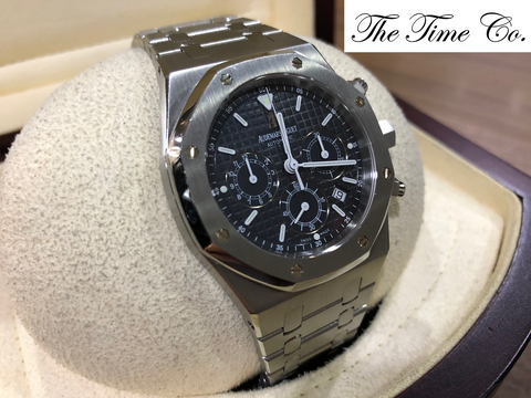 -SOLD- Audemars Piguet Royal Oak Chronograph Blue 25860ST