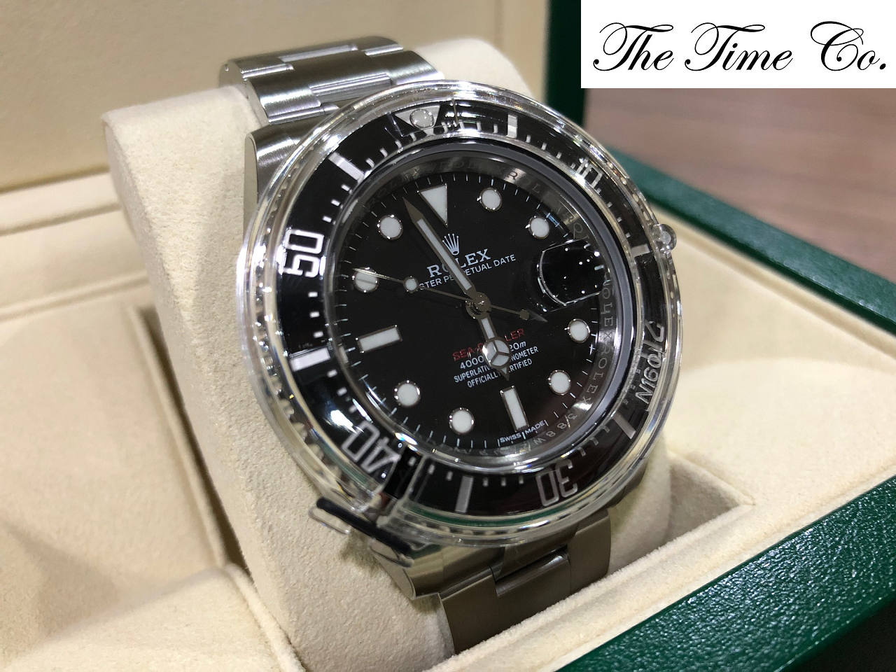 -SOLD- Rolex Sea Dweller 50th Anniversary 126600
