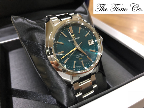 "-SOLD- Grand Seiko Hi Beat GMT ""Peacock"" SBGJ227"