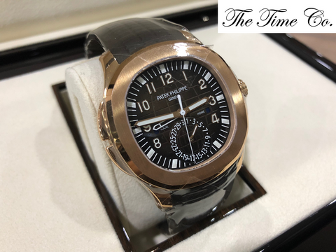 -SOLD- Patek Philippe Aquanaut Travel Time 5164R