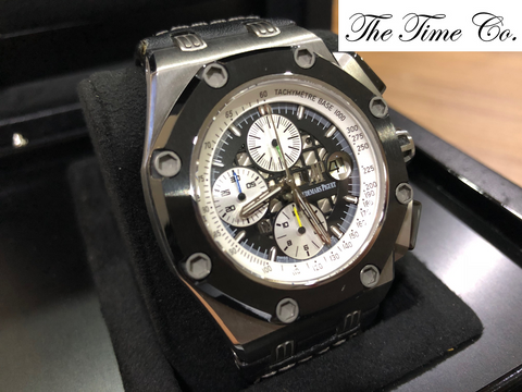 -Pre Owned- Audemars Piguet ROO Rubens Barrichello II