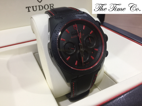 -SOLD- Tudor Fast Rider Black Shield