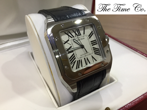 -SOLD- Cartier Santos XL