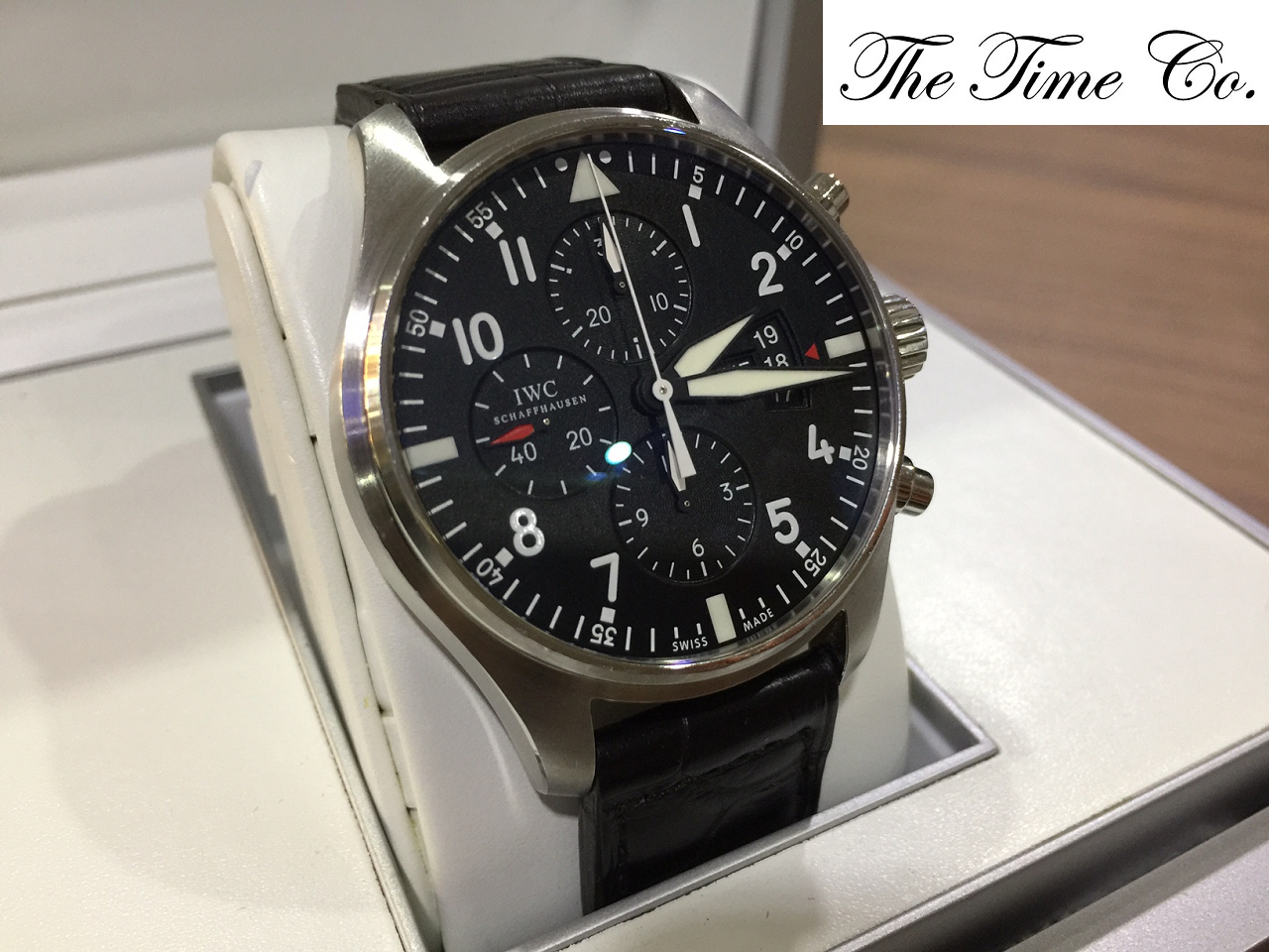 -SOLD- IWC Pilot Chronograph 3777-01