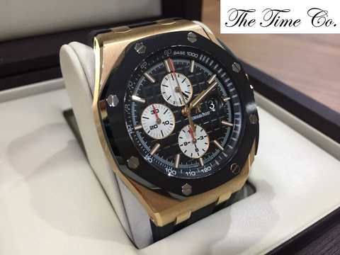 -SOLD- Audemars Piguet Novelty Rose Gold