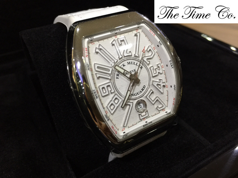 -SOLD- Franck Muller Vanguard V41 Steel