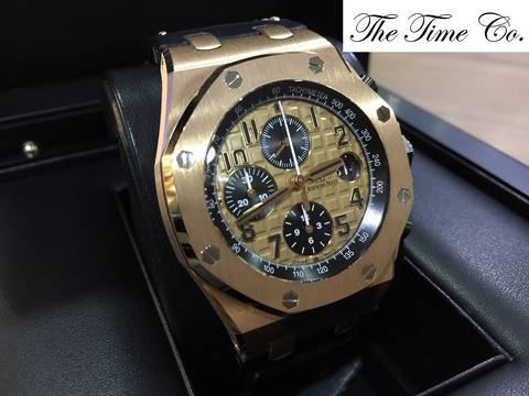 -SOLD- Audemars Piguet ROO Rose Gold 26470OR