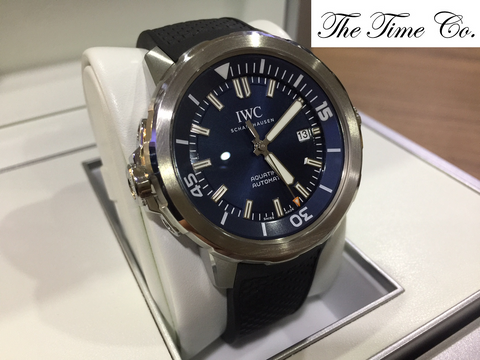 -SOLD- IWC Aquatimer Expedition Jacques-Yves Cousteau IW3290-05