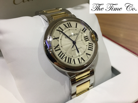 -SOLD- Cartier Ballon Bleu 36mm Automatic W2BB0012