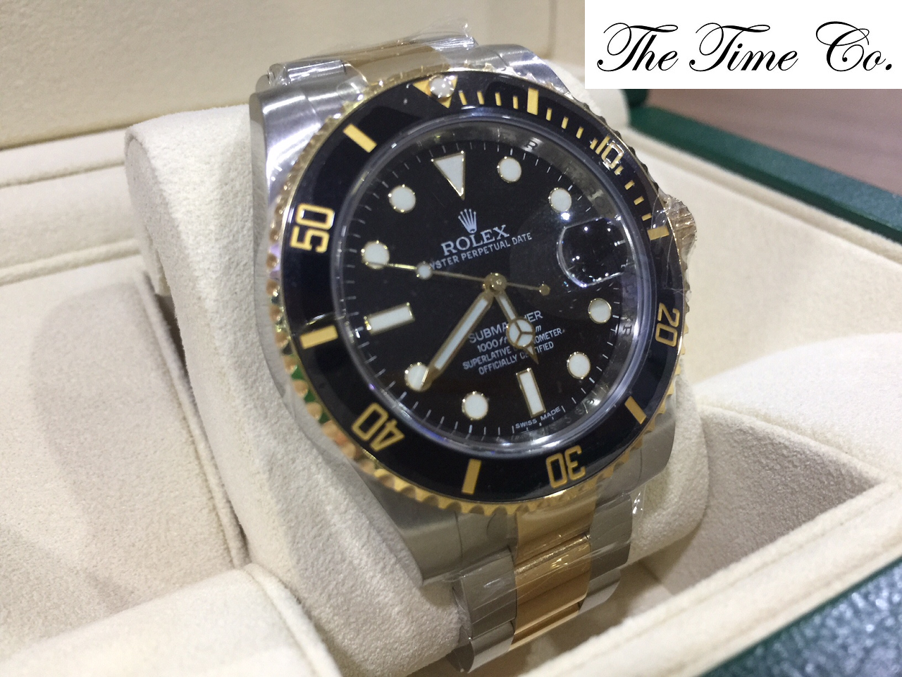 -SOLD- Rolex Submariner 116613LN