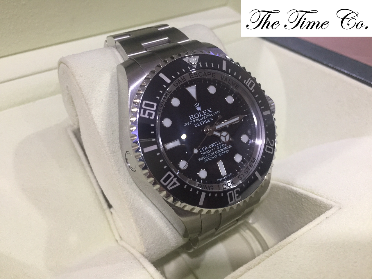 -SOLD- Rolex Deepsea Sea Dweller 116660