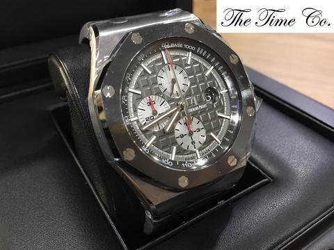 -SOLD- Audemars Piguet Novelty Titanium SIHH 2017