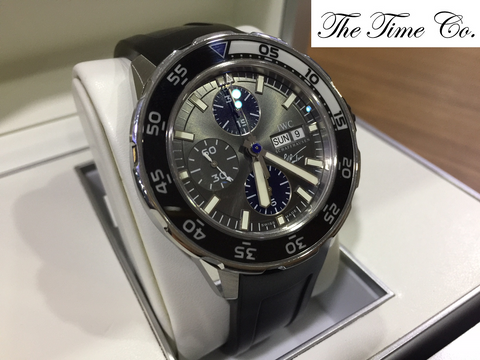 -SOLD- IWC Aquatimer Jacques Yves Cousteau IW3767-06