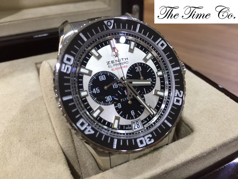 -Pre Owned- Zenith Stratos Flyback Blashford Limited 500 Pieces