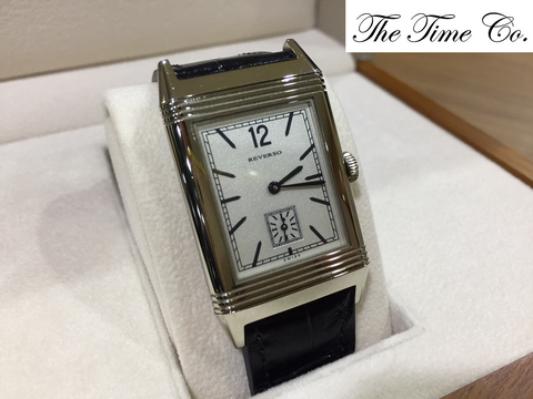 -SOLD- Jaeger LeCoultre Grande Reverso Ultra Thin 1931 18k White Gold