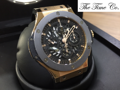 -SOLD- Hublot Big Bang Aero Bang Rose Gold Limited 500 Pieces