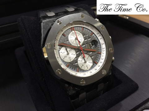 -SOLD- Audemars Piguet ROO Jarno Trulli Limited 500 Pieces