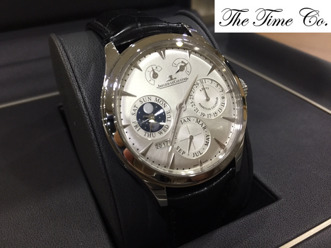 -SOLD- Jaeger LeCoultre Master Perpetual Eight Days