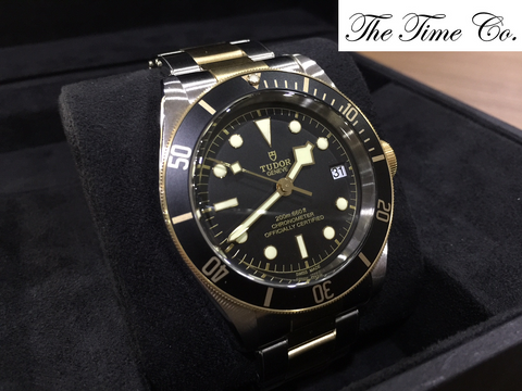 -SOLD- Tudor Black Bay Steel & Gold 79733N