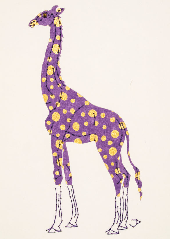 Stitched Paper Zoo