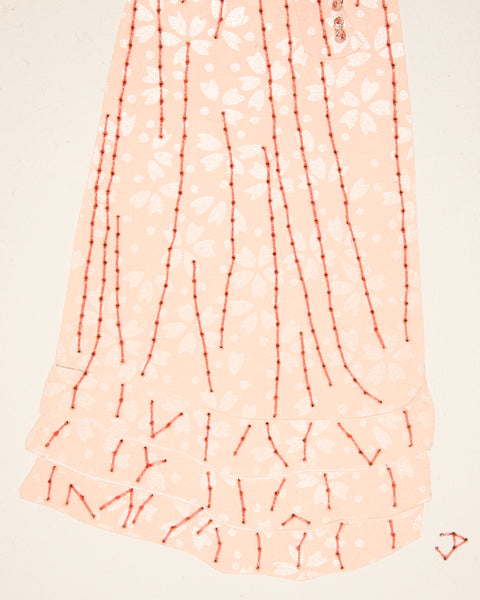 Dress #037.2: Regency dress in pale pink