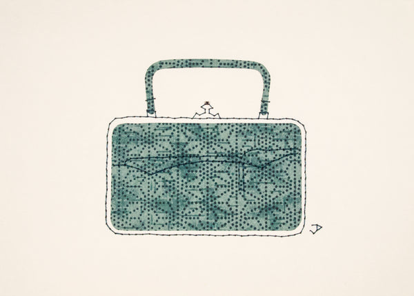 Victorian Handbag in Teal