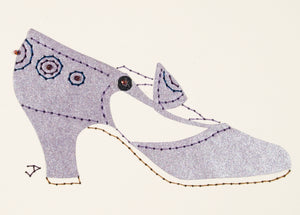 1925 Shoe in Shimmering Lilac
