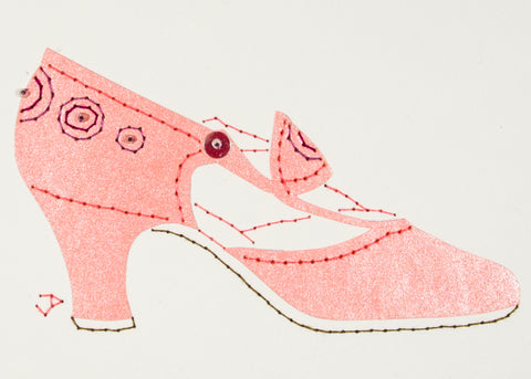 1925 Shoe in Pale Pink