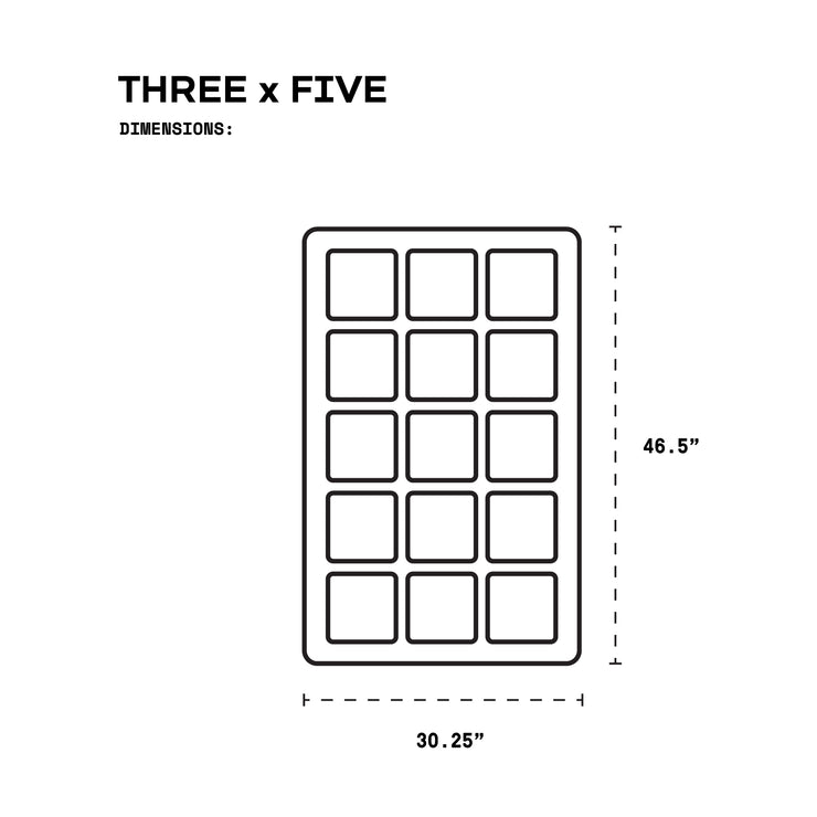 WORKSTATION THREE x FIVE - BASIC KIT