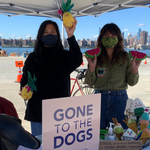 Gone to the Dogs first pop up at Greenpoint Terminal Market