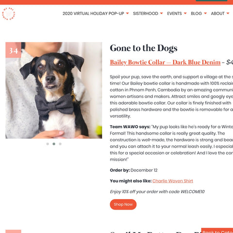 Gone to the Dogs first gift guide
