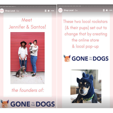 Gone to the Dogs first mention feature
