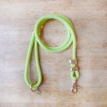 Load image into Gallery viewer, Fuji Rope Leash - Neon Green