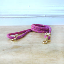Load image into Gallery viewer, Fuji Rope Leash - Pink