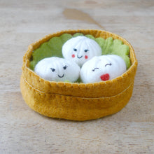 Load image into Gallery viewer, White Dumpling Wool Dog and Cat Toy