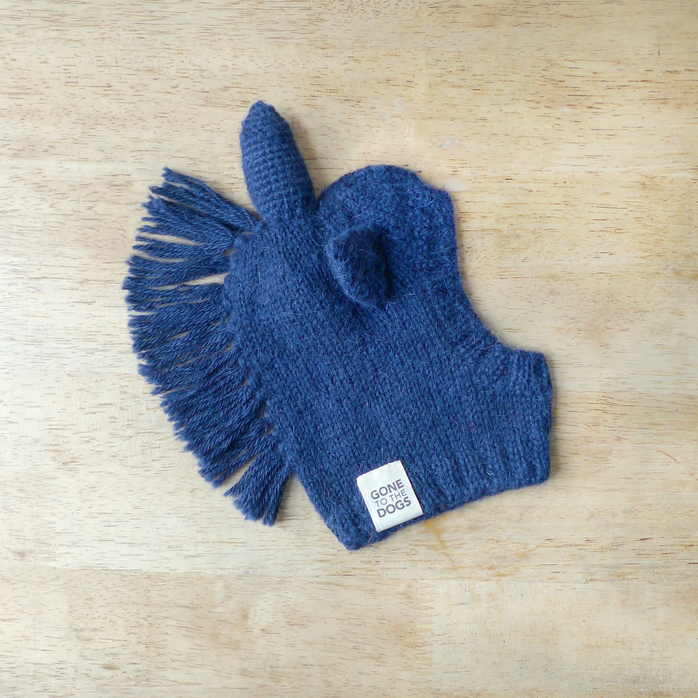 Unicorn Sweater Hood -  Navy