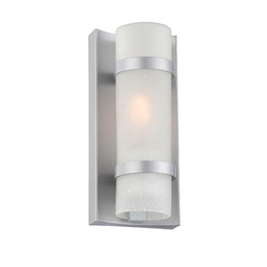 Acclaim Lighting - 4700BS - One Light Outdoor Wall Mount - Apollo - Brushed Silver