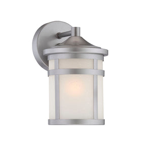 Acclaim Lighting - 4714BS - One Light Outdoor Wall Mount - Austin - Brushed Silver