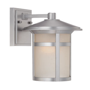 Acclaim Lighting - 39102BS - One Light Outdoor Wall Mount - Phoenix - Brushed Silver