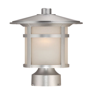 Acclaim Lighting - 39107BS - One Light Outdoor Post Mount - Phoenix - Brushed Silver