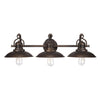 Capital Lighting - 3793BB - Three Light Vanity - O`Neal - Burnished Bronze