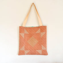 Load image into Gallery viewer, Quilted Canvas Tote 01