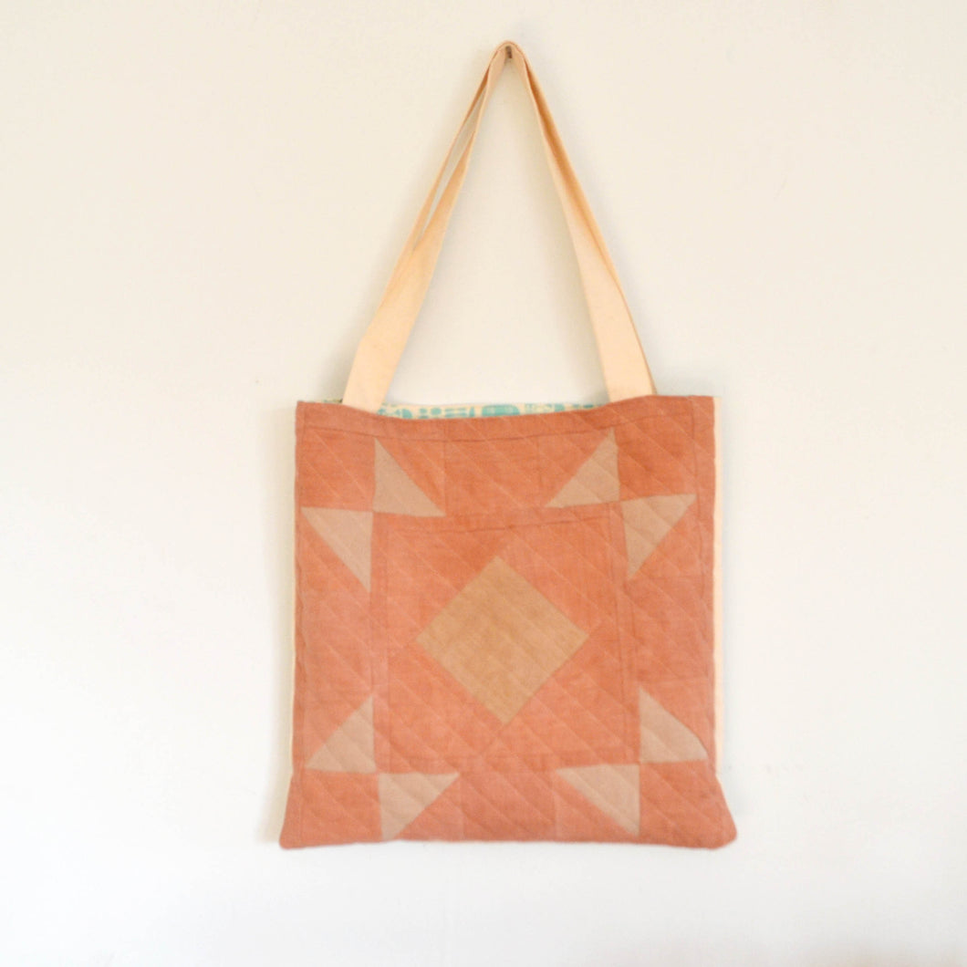 Quilted Canvas Tote 01