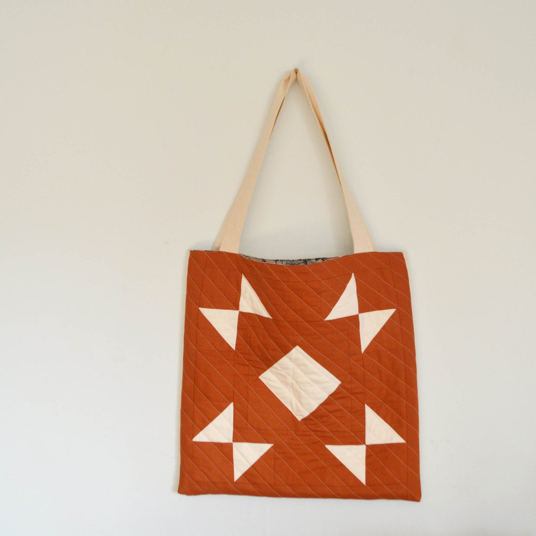 Quilted Canvas Tote 02