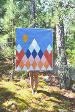 Load image into Gallery viewer, Mountain Diamond Quilt Pattern