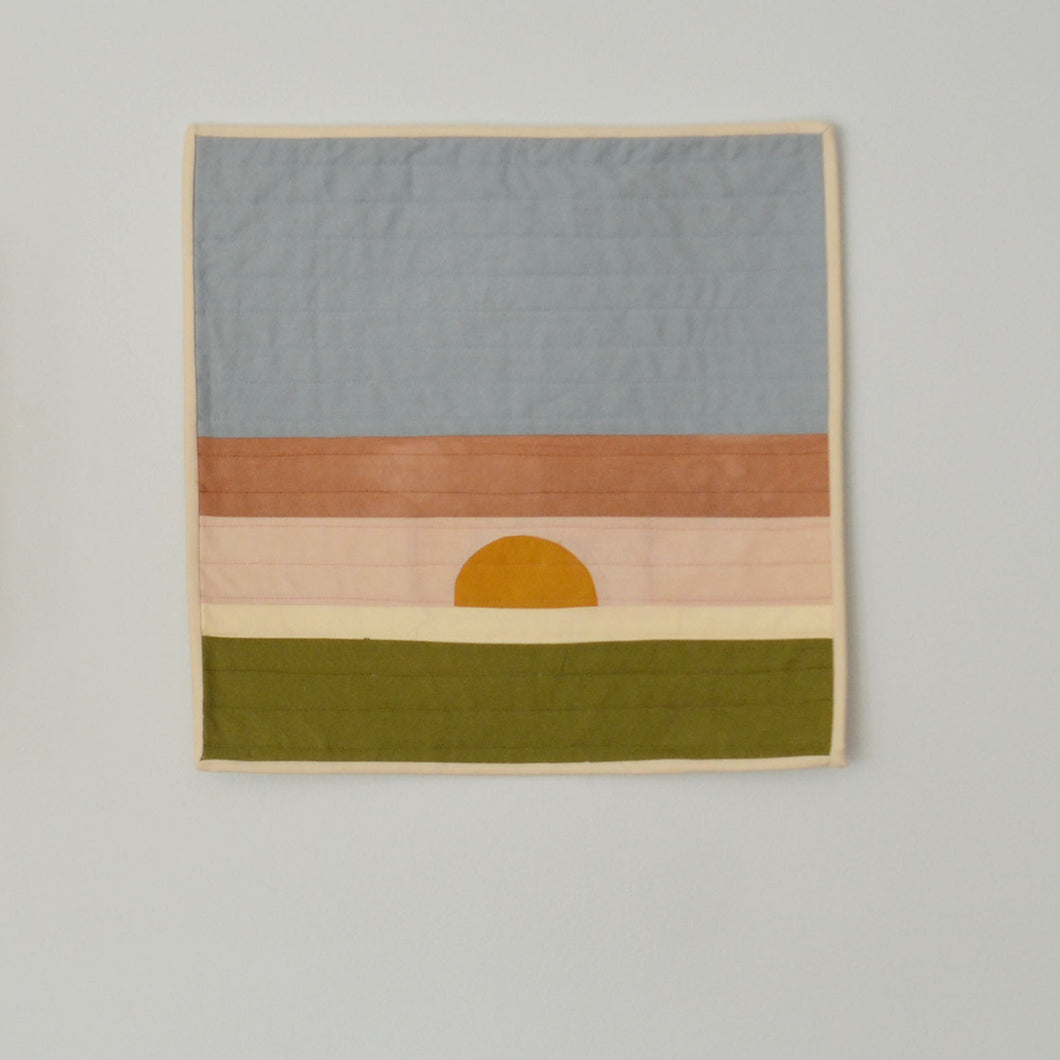 Small Sunrise Wall Hanging