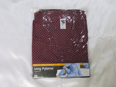 Men's Pyjamas – Alpha / Long (3 Colours)