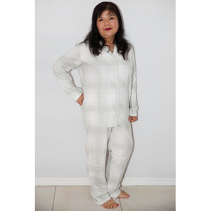 Women's - Emerson White & Grey Stripe