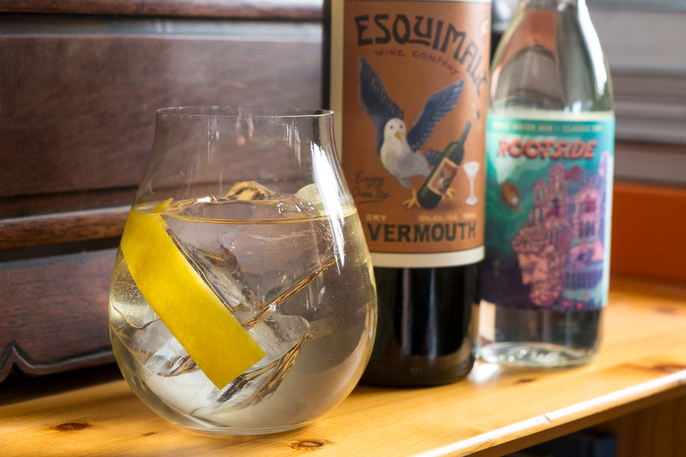 Vermouth and Tonic