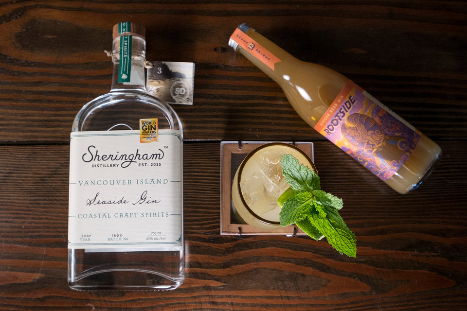 Gin Gin Mule Recipe - A little botanical kick can really up your Mule game